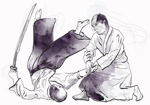Aikido illustration