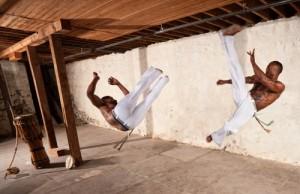 Capoeira artists