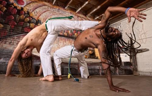 Capoeira coreography
