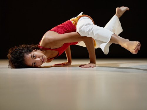 Capoeira pose