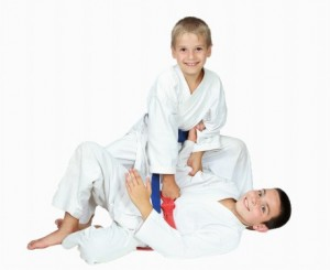 Jiu Jitsu training for children