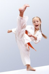 Karate high kick