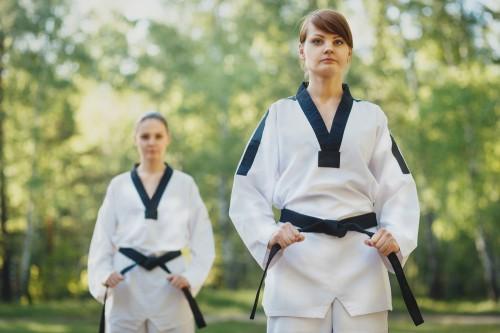 Kata black belt training