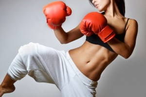 Kickboxing as cardio training