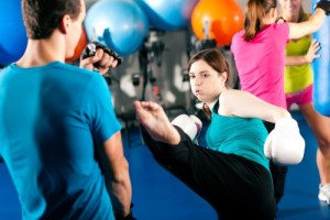 Kickboxing for self defense