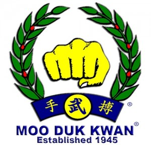 Moo_Duk_Kwan_fist_logo_created_by_Hwang_Kee_in_1955