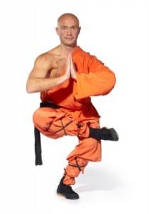 Shaolin one legged pose